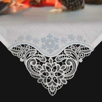 Winter Tablecloth & Napkin Corners