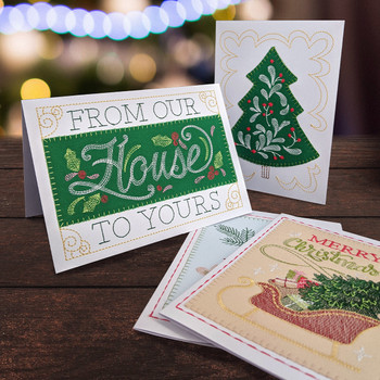 Holly Jolly Greeting Cards