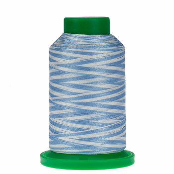 9603 The Blues Isacord Variegated Thread