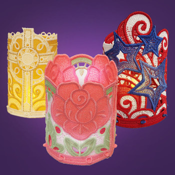Freestanding Tea Light Holders Medley