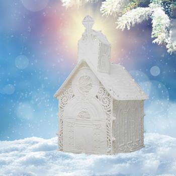 Winter Village Freestanding Church