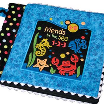 Friends in the Sea 123 3-D Book