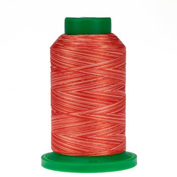 9924 Atomic Orange Isacord Variegated Thread