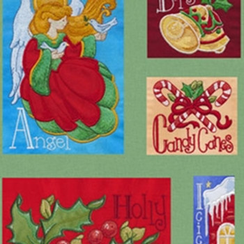 Christmas Alphabet by Krista Hamrick