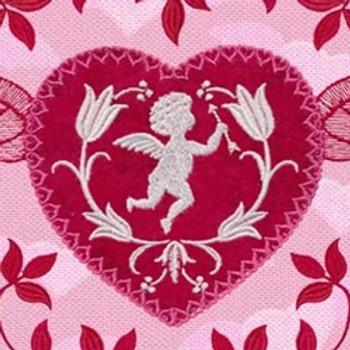 Cupid & Hearts Floral