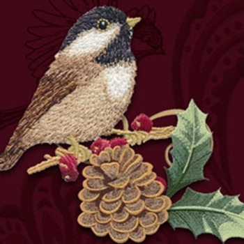 Chickadees & Berries by Jackie Robinson