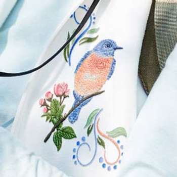 Bluebird Gathering by Jackie Robinson