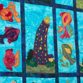 Lighthearted Lighthouses by Nancy Barrett