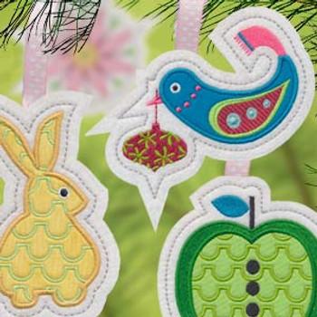 Winter Wonderland Ornaments by Tamara Kate