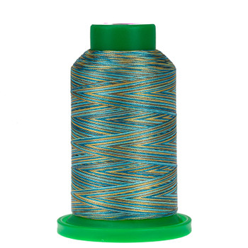 9978 Egyptian Turquoise Isacord Variegated Thread