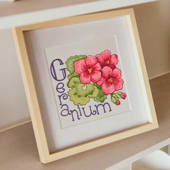 Garden Blooms Alphabet by Krista Hamrick