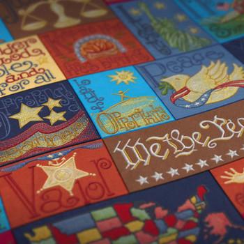 Patriotic Alphabet by Krista Hamrick
