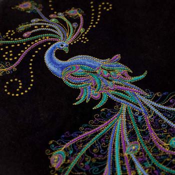 Peacock Flourish by Ann Lauer
