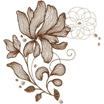 Sepia Petals