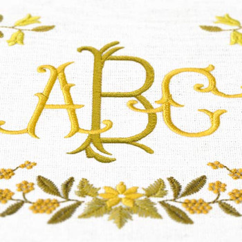 Royal Bee Monograms