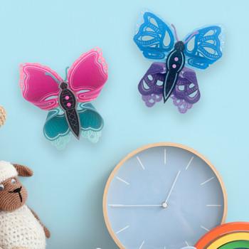 Freestanding Dimensional Butterflies