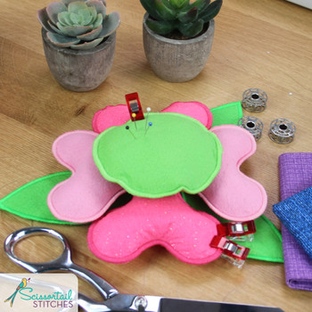 Floral Blooming Pin Cushions