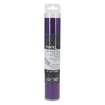 OESD Luxe Sparkle Vinyl Purple