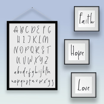 Penned Alphabet