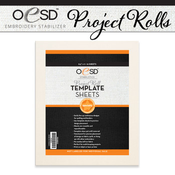 Project Roll StabilStick Template Sheets