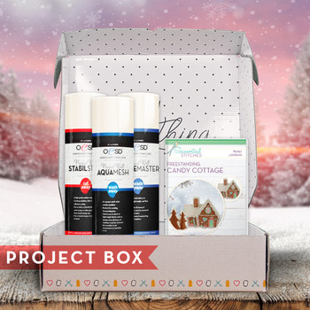 Freestanding Candy Cottage Project Box