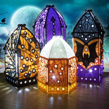 Freestanding Halloween Little Lanterns