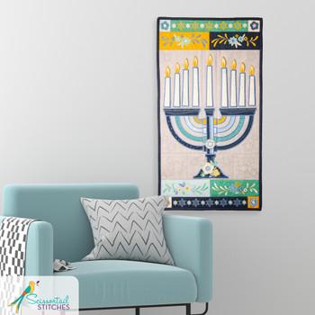 Light the Menorah Wall Hanging