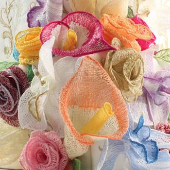 Freestanding Lace Bouquet