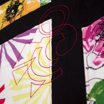 Modern Continuous Line Quilting