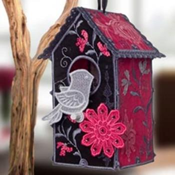 Damask Birdhouse