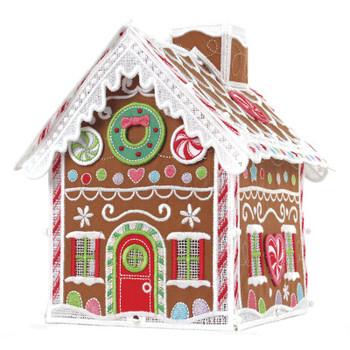 Freestanding Gingerbread House