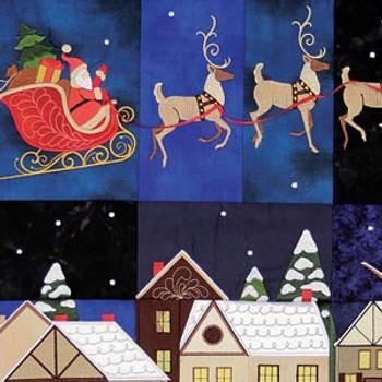 Christmas Eve Tiling Scene