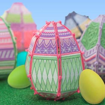 Freestanding Easter Eggs