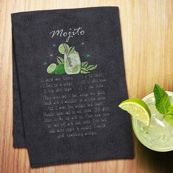 Cocktail Recipe Towels