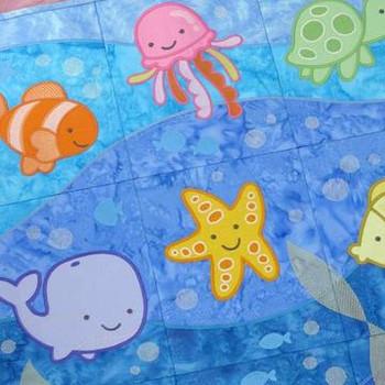 Aquatic Adventures Tiling Scene