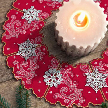 Freestanding Holiday Wreaths