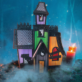 Freestanding Haunted Mansion