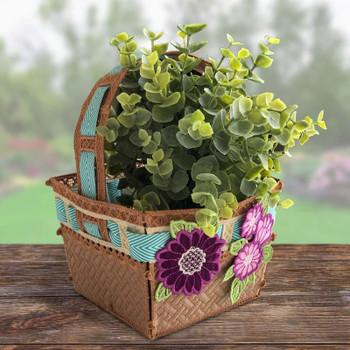 Freestanding Basket for All Seasons