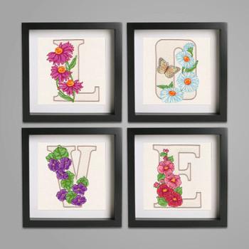 Floral Alphabet by Krista Hamrick