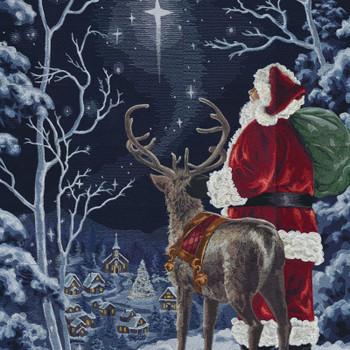 Starry Night Santa
