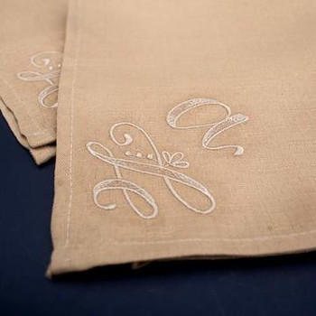 Handcrafted Monograms by Shannon Roberts