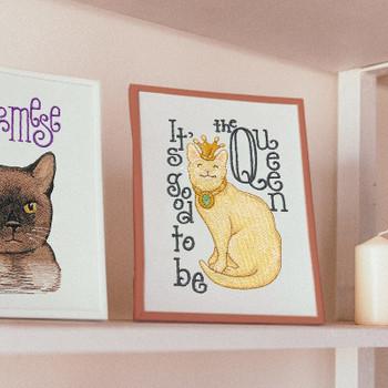 Cat Alphabet by Krista Hamrick