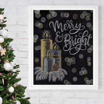 Merry & Bright Tiling Scene by Shannon Roberts