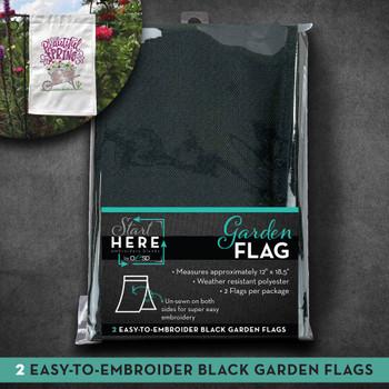 OESD Garden Flag Black