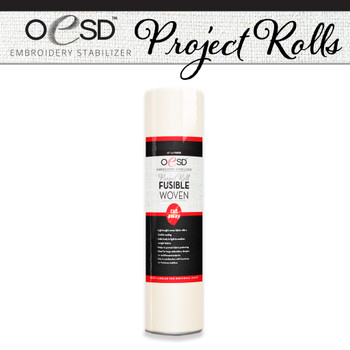 Project Roll Fusible Woven White
