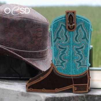 Freestanding Cowboy Boots
