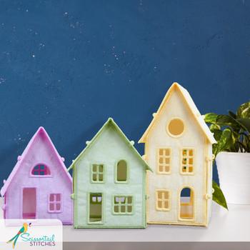 Freestanding Little Lighted Village
