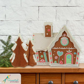 Freestanding Candy Cottage