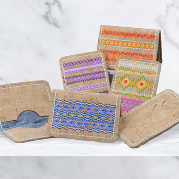 Tapestry Cork Wallets