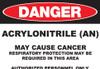 DANGER Acrylonitrile